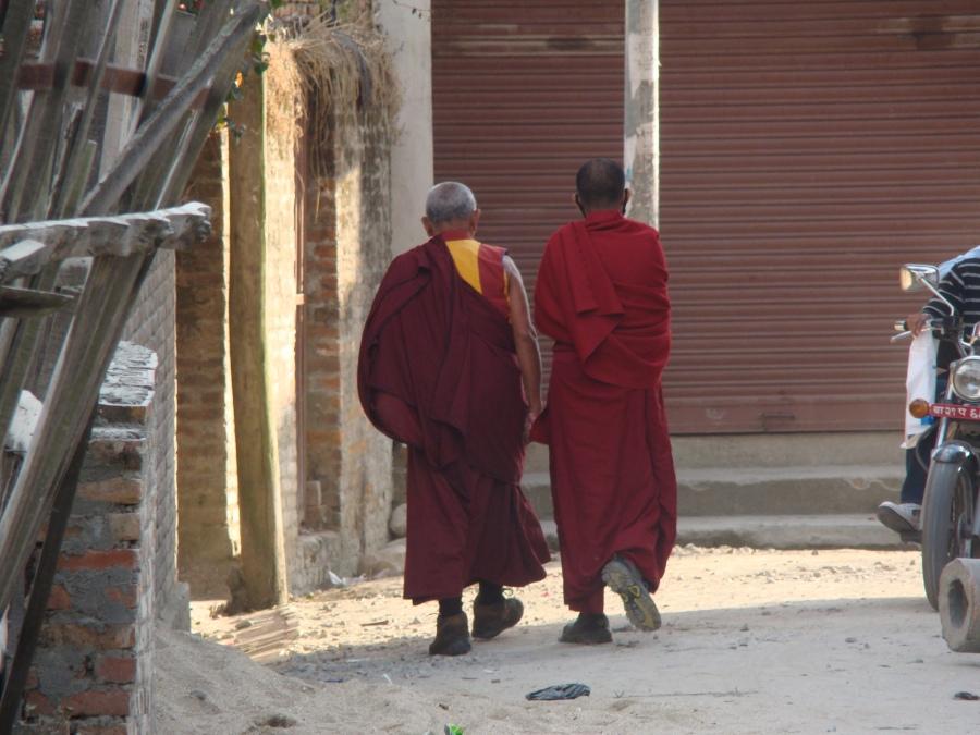 """Pies con """"zapatones"""", Tibet, 2010"""