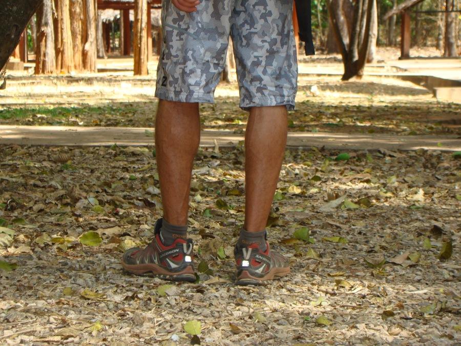 Pies en zapatillas, Madagascar, 2011